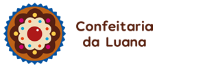 Logotipo Confeitaria da Luana